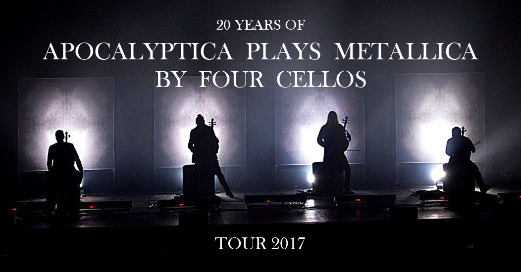 Концерт Apocalyptica Апокалиптика 2017 в Москве