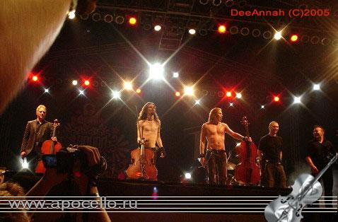 Apocalyptica - Romanian gig